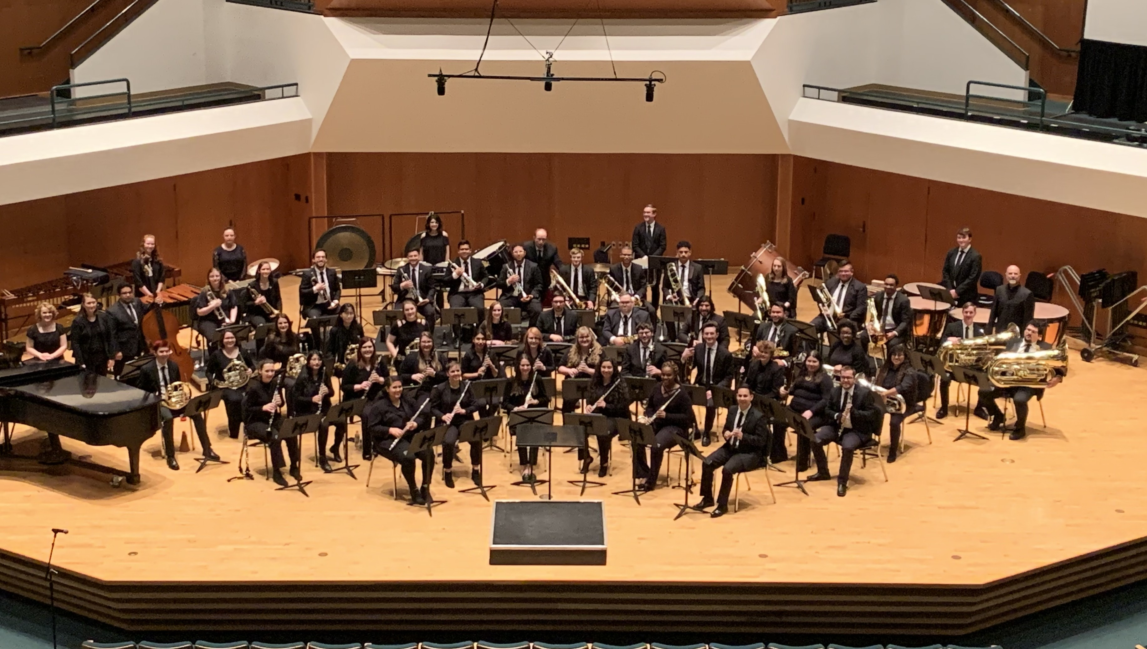 TWU Wind Symphony at CBDNA