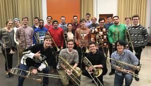 Send the UT Trombone Choir to Japan!