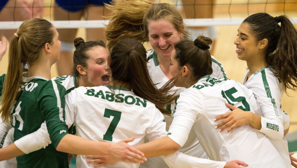 Babson Women's Volleyball Image