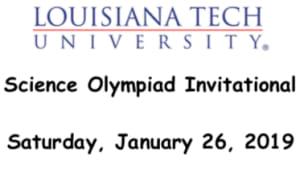 Louisiana Tech Science Olympiad Invitational