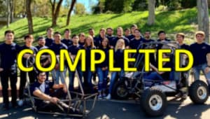 UCI Anteater Racing for Renegade Campaign