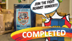 Clash of the Cans Food Drive