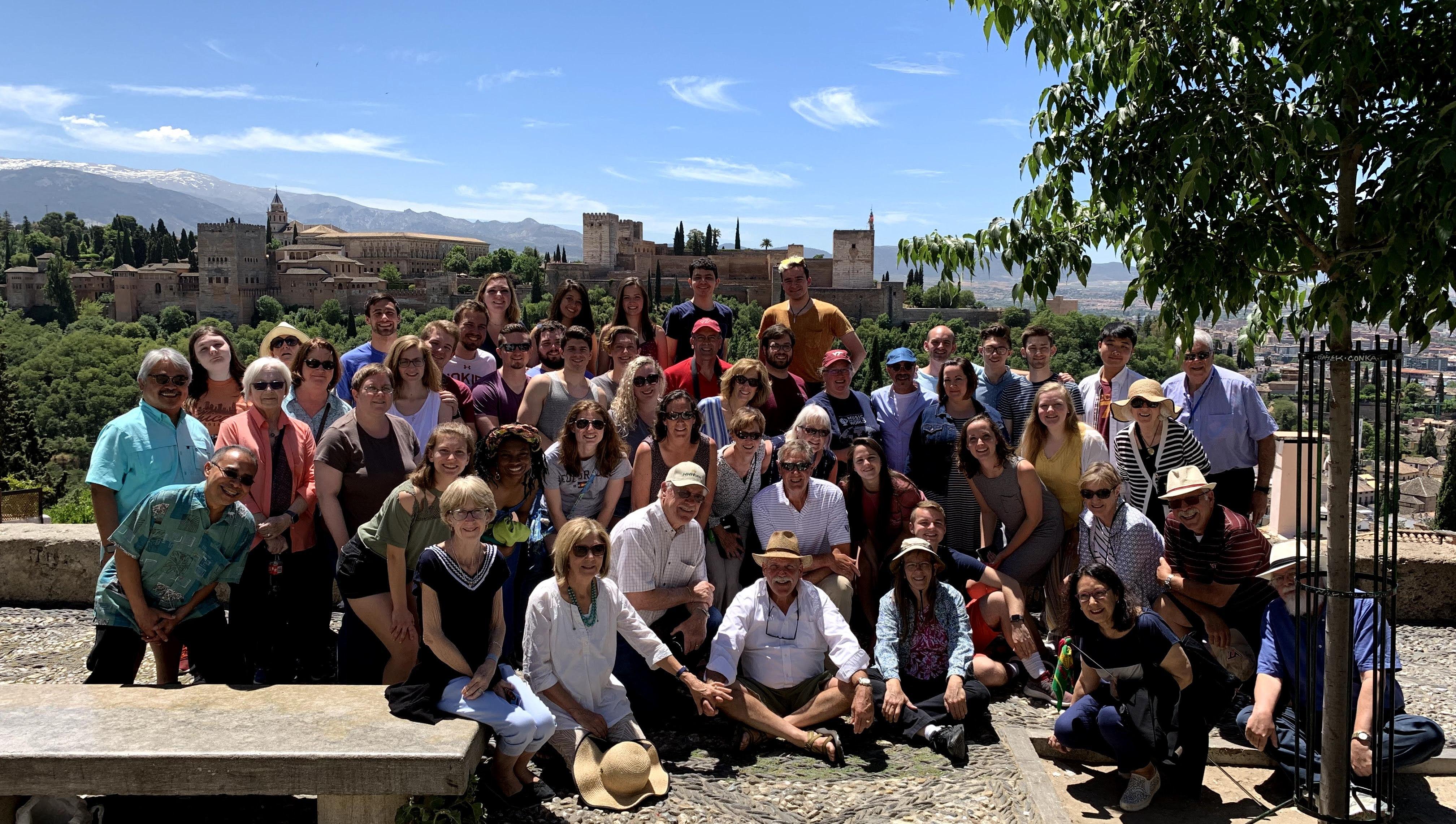 VT Chamber Singers and Blacksburg Master Chorale perform in Granada, Spain (2019)