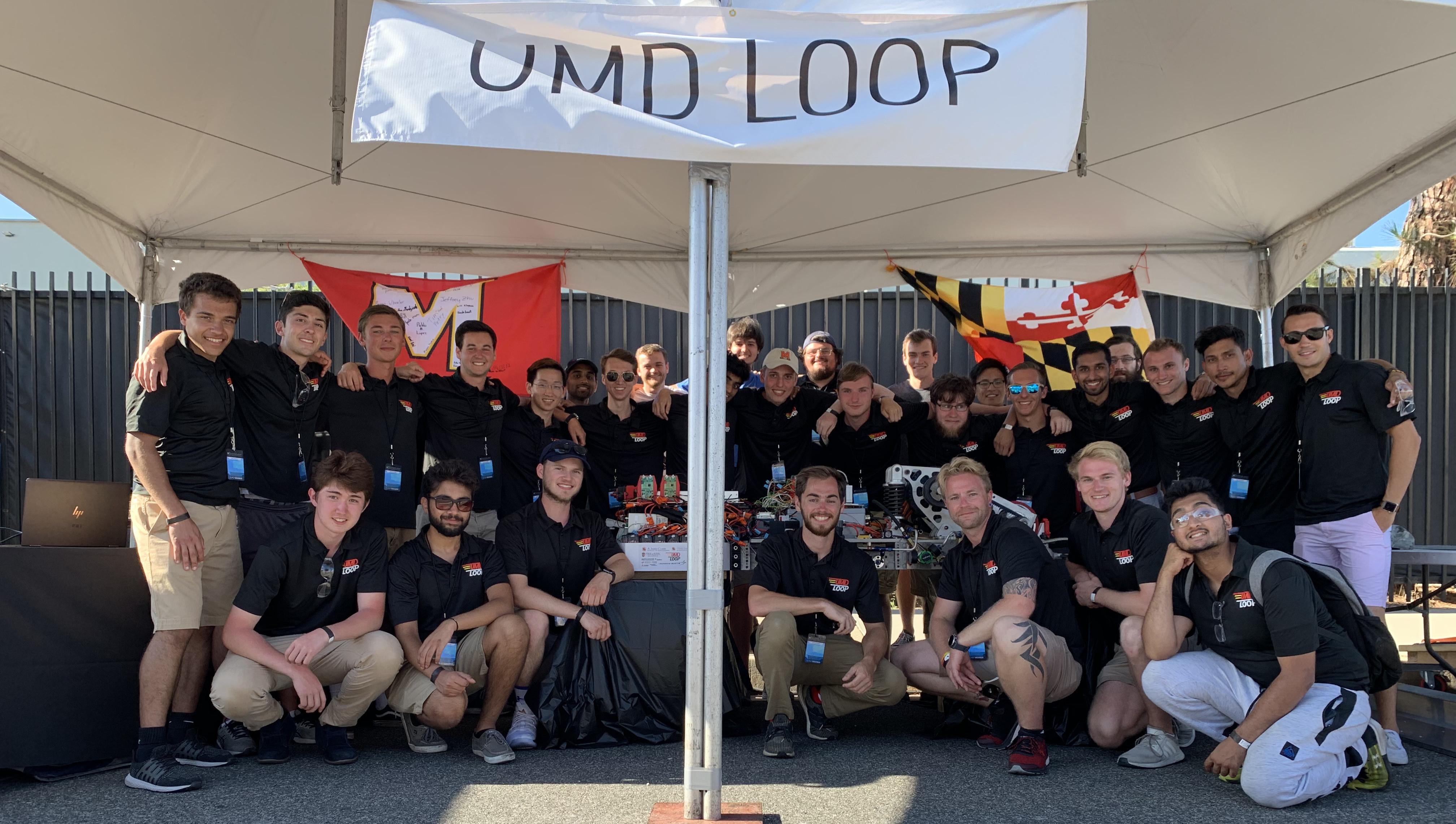 UMD Loop at the 2017 SpaceX Hyperloop Competition
