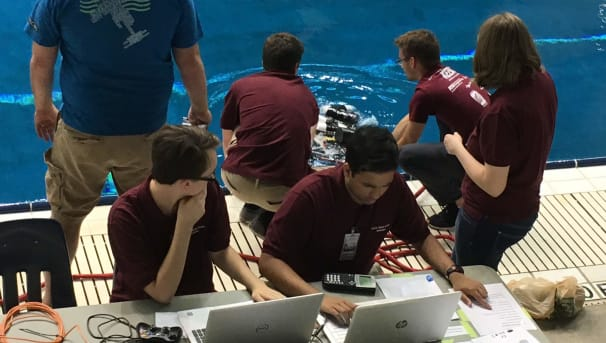 Support Underwater Robotics at Arizona State! Image