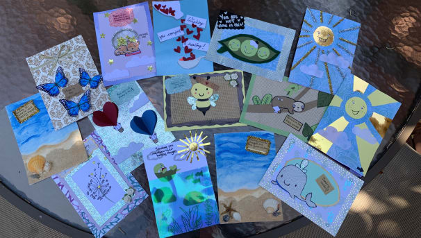"""""""Get Well"""" Comfort Cards by Amanda Image"""
