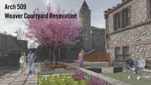Rebuilding Weaver Courtyard
