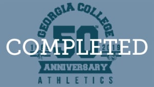 $50 for 50 Years of Georgia College Athletics