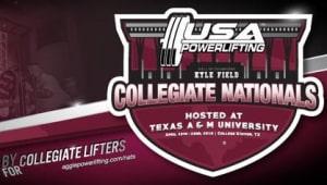 UMass Powerlifting Nationals 2018