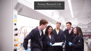 Supporting Undergraduate Research at the Armani Research Lab