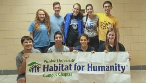 Habitat for Humanity Purdue Student Chapter House