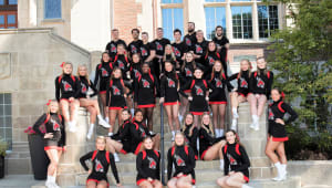 New Uniforms for the Ball State Cheerleaders