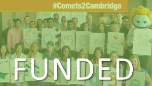 #Comets2Cambridge - Presenting Undergraduate Research