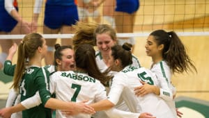 Babson Women's Volleyball