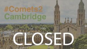 Comets 2 Cambridge 2016