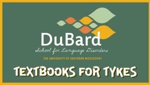 DuBard School Textbooks for Tykes