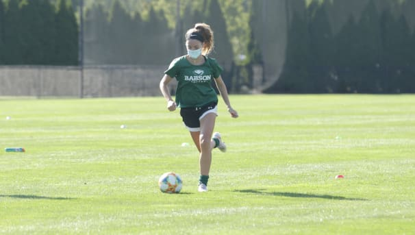 Babson Women's Soccer Image