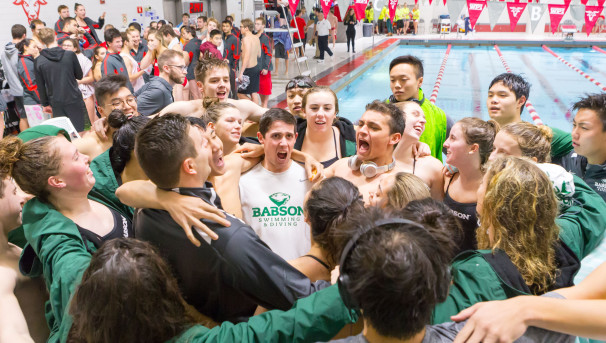 Babson Men's & Women's Swimming & Diving Image