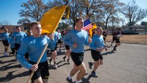 Ole Miss Army ROTC Egg Bowl Run