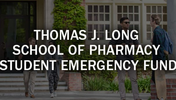 Thomas J. Long School of Pharmacy Student Emergency Fund Image