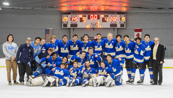 UCLA Ice Hockey: Repping the Bruins Image