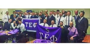 Tau Epsilon Phi: Student Veterans Building Bonds