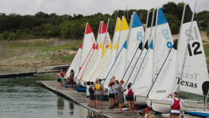 Nationals for the UT Sailing Team
