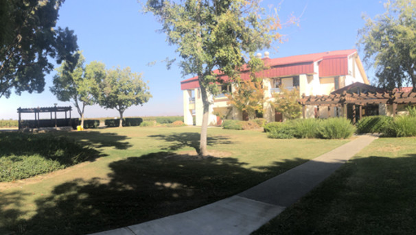 Fresno State Viticulture and Enology Metzler Gazebo and Lawn Area