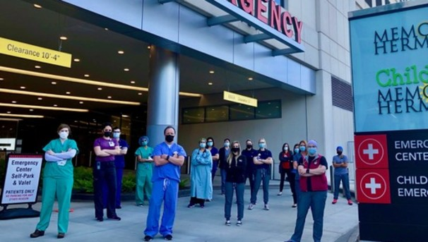 Help UTHealth Emergency Medicine Fight COVID-19 Image