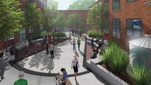 White Station High School Community Courtyard