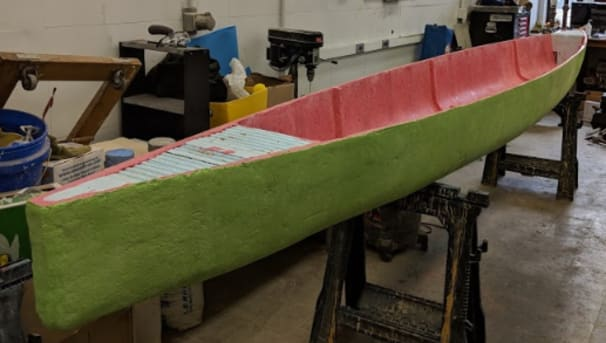 Concrete Canoe Design Team Image