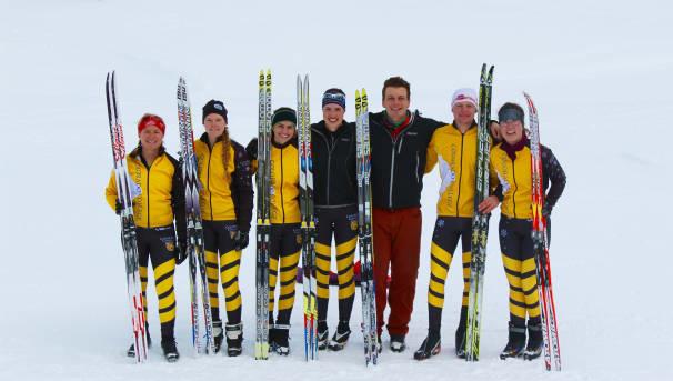 CC Nordic Ski Team 2016 Image