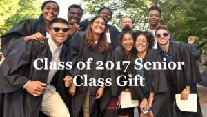 Class of 2017 Senior Gift