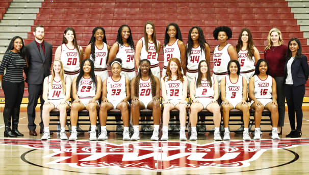 2019-20 TWU Basketball 3 Point Club Image