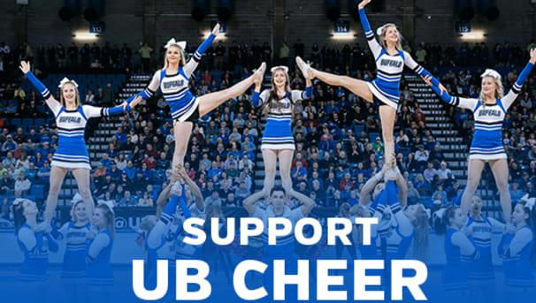 UB Cheerleading Image