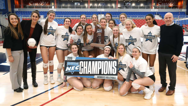 SHU Women's Volleyball is Headed to the NCAA Tournament! Image