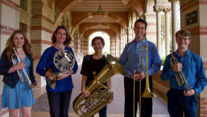UCLA Undergrad Brass Quintet Goes to Aspen Music Festival