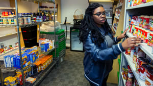 Support the Campus Food Pantry
