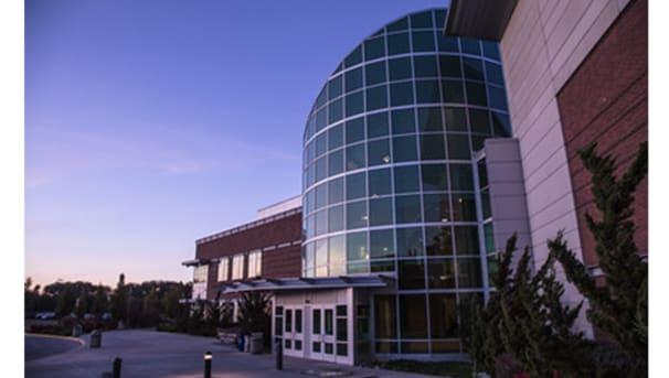 McIntire Hall on CWU campus