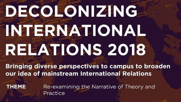 Decolonizing International Relations Conference Image