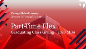 2020 Part-Time Graduating Class Giving
