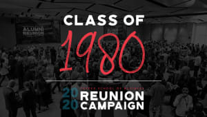 Class of 1980 Reunion Gift Campaign