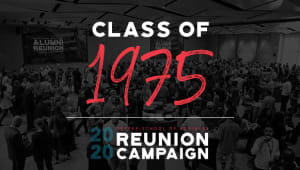 Class of 1975 Reunion Gift Campaign