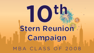 Stern MBA Class of 2008 Reunion Campaign