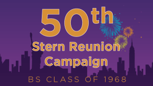 Stern BS Class of 1968 Reunion Campaign