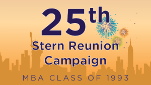 Stern MBA Class of 1993 Reunion Campaign
