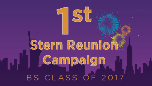 Stern BS Class of 2017 Reunion Campaign