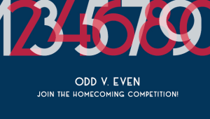Homecoming Giving Competition - ODD Class Years