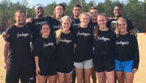 LA Tech CoRec Flag Football Team