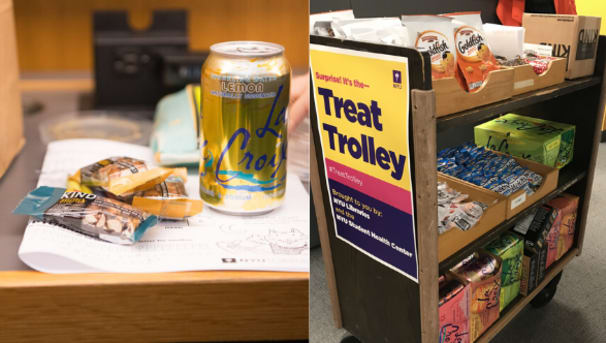 NYU Libraries Treats Trolley for Students Image